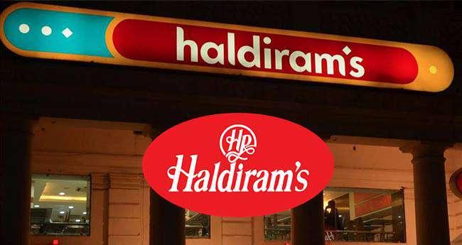 Success story behind Haldiram. Outlet in Delhi