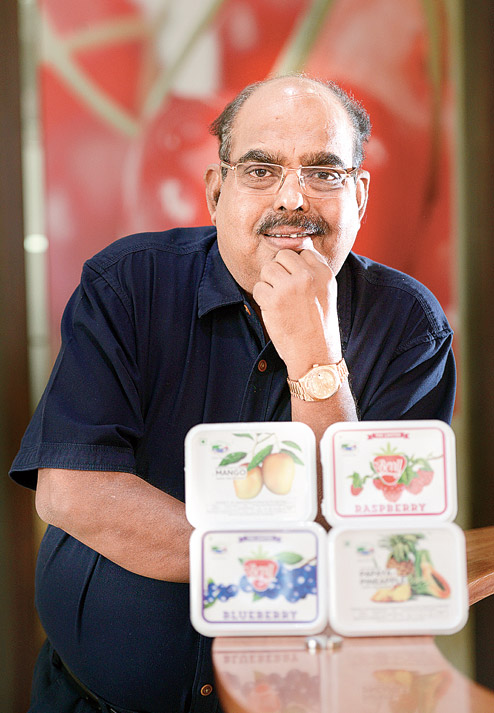 Raghunandan Srinivas Kamath Owner of Naturals Ice Cream India