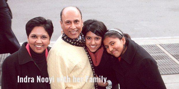 Family of Indra Nooyi