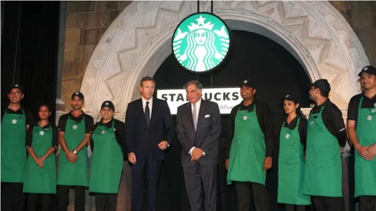 Starbucks India launch