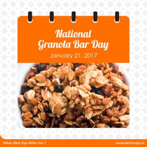 National Granola Bar Day  1 –