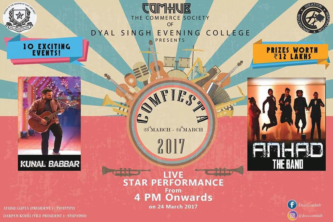 Comfiesta - Dyal Singh Evening College  1 – Dyal Singh College