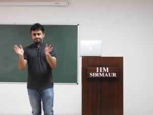 Internet Marketing Lecture in IIM Sirmaur  1 –