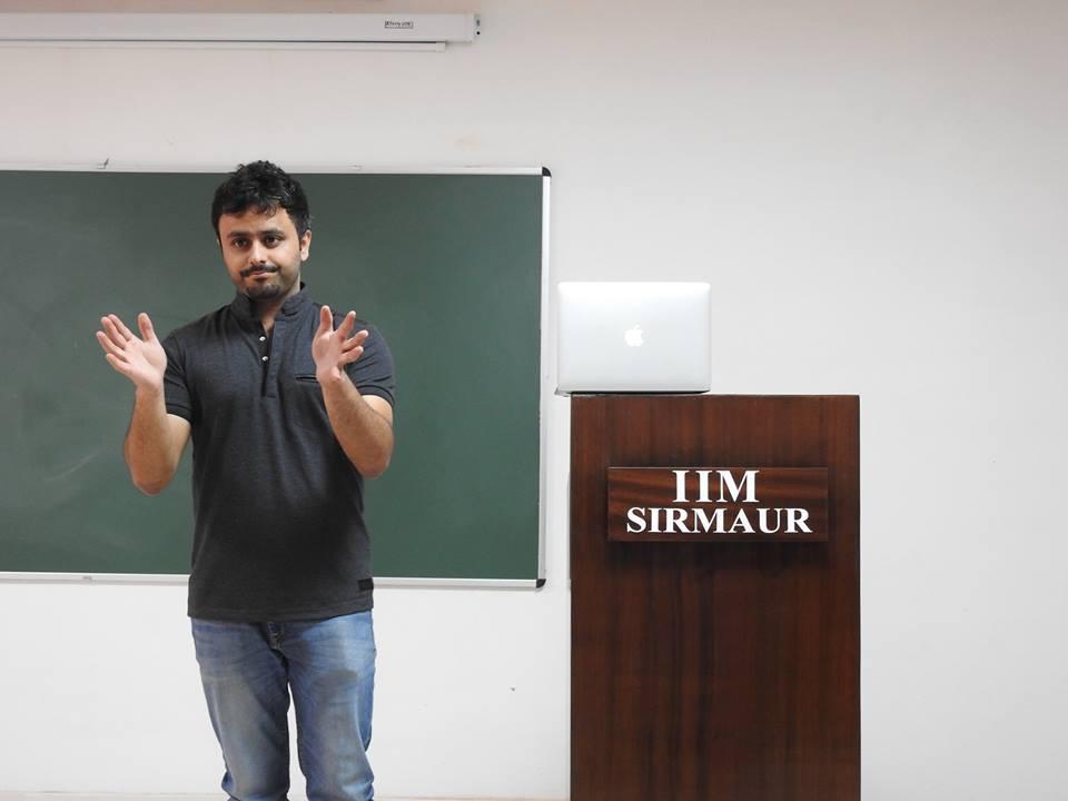 An Entrepreneur by Choice! - Saurabh Bhatnagar  3 – Saurabh Bhatnagar