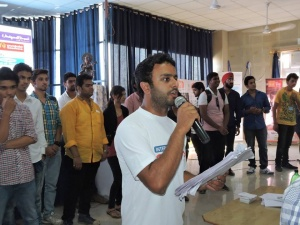 Stage Anchoring in our USP The Survivor Event  1 –