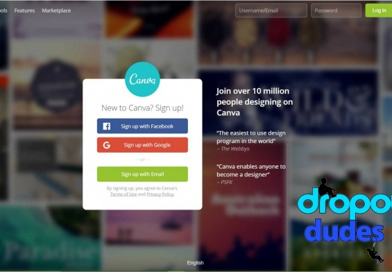 How to use canva tool