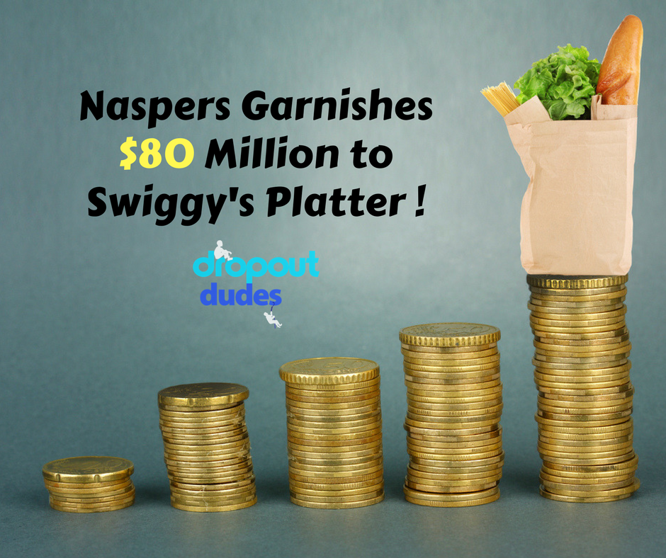 Swiggy got a $ biggie!  20 – Swiggy