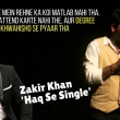 Zakir Khan: What You Can Learn From His Standup Comedy 'Haq Se Single'