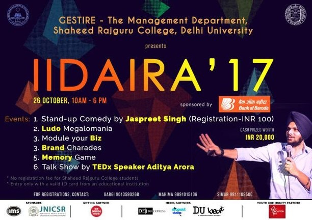 IIDAIRA'17 - Annual Management Fest of Rajguru College 4 – Rajguru College