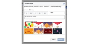 Facebook Red Envelopment Payments