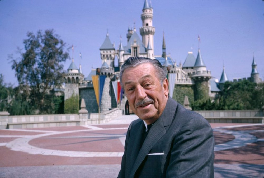 Walt Disney at Disneyland tour Success Story