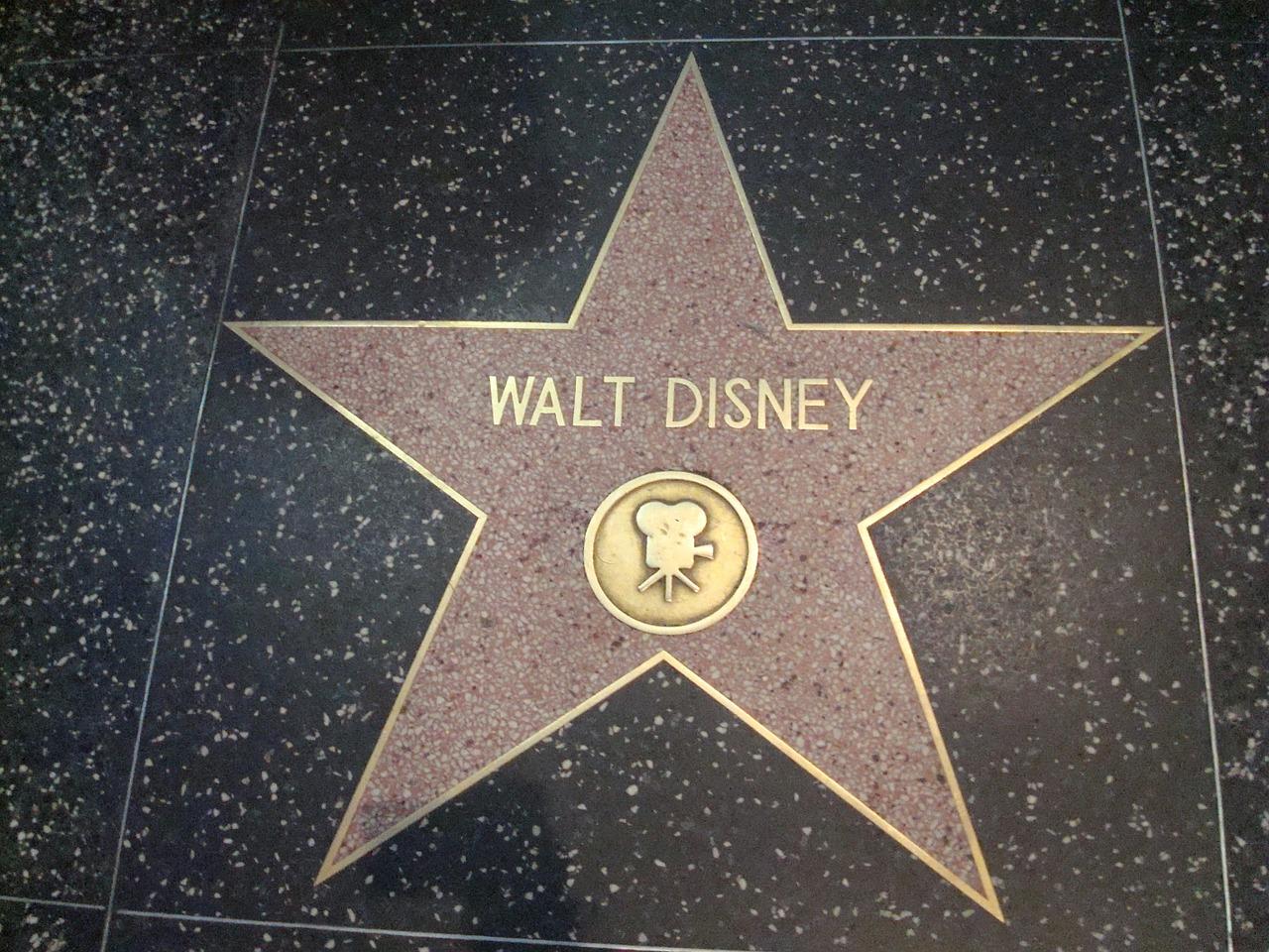 Walt Disney at Hollywood, California
