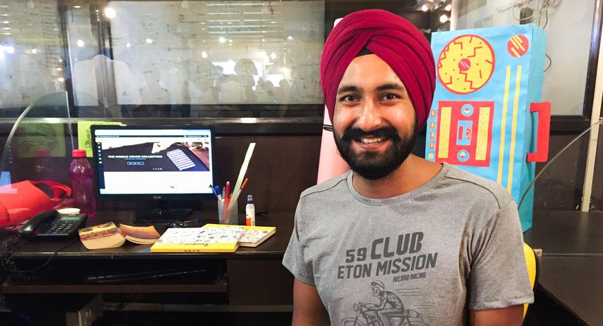 Prabhkiran Singh Bewakoof coFounder
