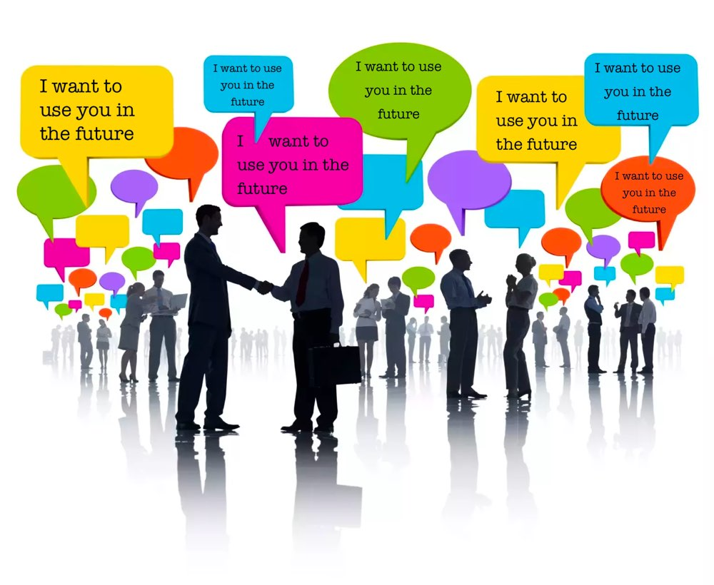 Connect to the successful people. Networking and connections