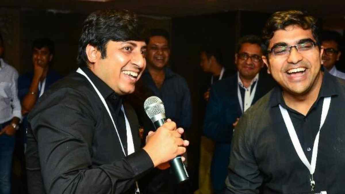 Founders of Wow Momo- Sagar Daryani and Binod Homagai