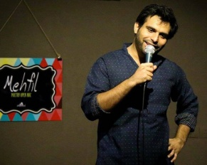 Success story of hindi comedian and poet Arpan Khosla