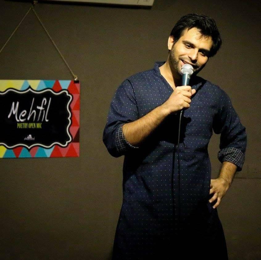 Interview of Poet and Comedian- Arpan Khosla