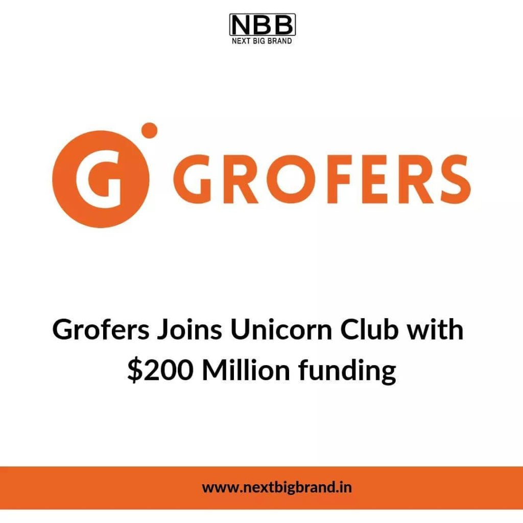 Latest Funding Update of Grofers by Next Big Brand