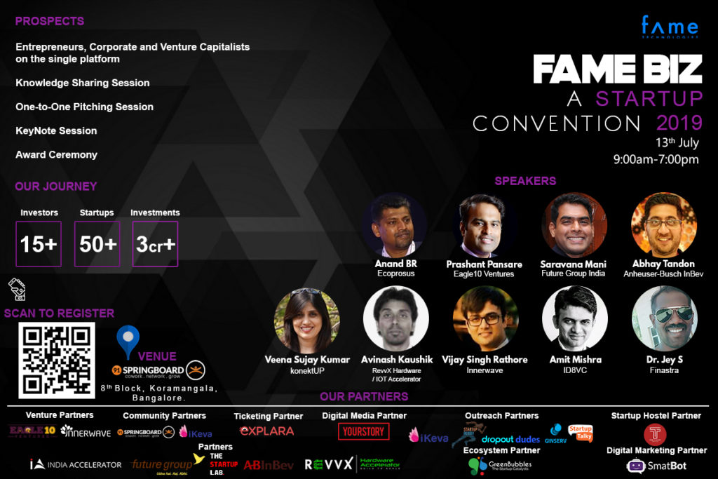 Speakers for Fame Biz 2019