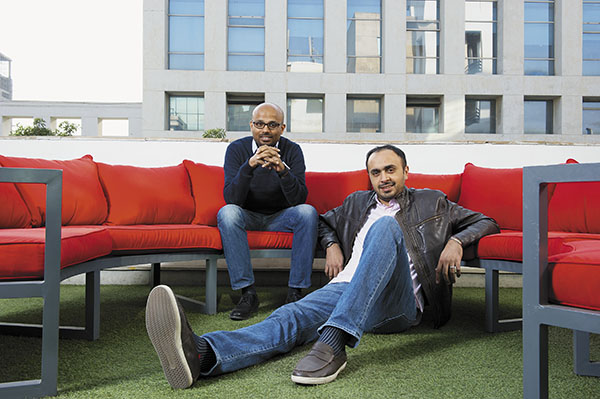 Grofers founders: Albinder Dhindsa and Saurabh Kumar