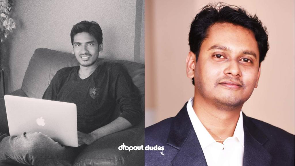 Chingari app co-founders – Biswatma Nayak and Sumit Ghosh